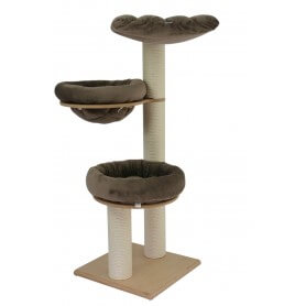 arbre a chat bois arbre chat design en bois titicatz jicky arbre a chat original arbres a chat. Black Bedroom Furniture Sets. Home Design Ideas
