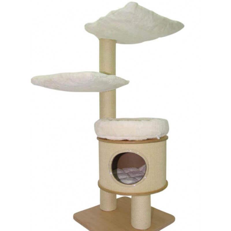 kratzbaum rotterdam 145cmkratzbaum geeignet f r gro e katzen holzpl. Black Bedroom Furniture Sets. Home Design Ideas