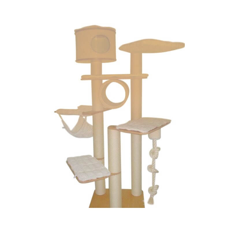 kratzbaum bern 220cmempfohlen f r grosse katzen holzplatte 70x70cm. Black Bedroom Furniture Sets. Home Design Ideas