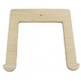 Hamaca de madera marco