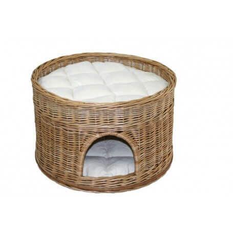 Дом корзины с подушками