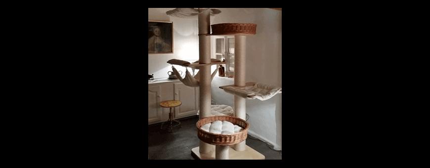 Träd katt-cart