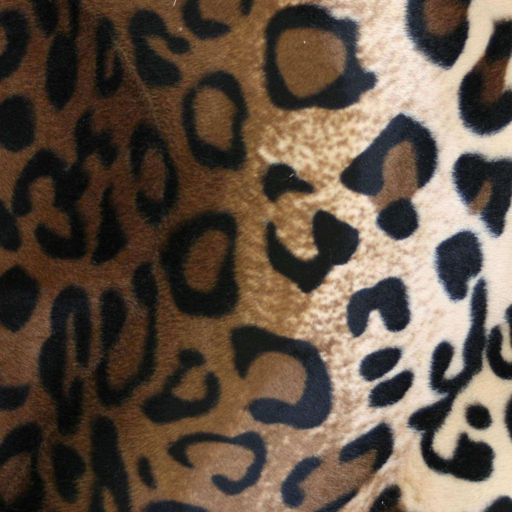 Leopardo di microfibra